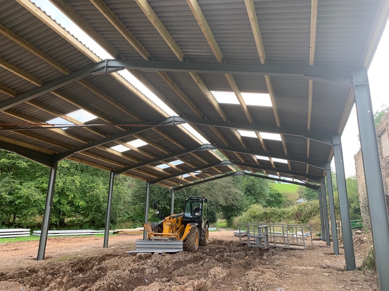 New Tractor Shed